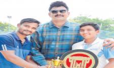 Sannit Gets Title in Master Series Tourney - Sakshi
