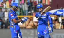 Mumbai Indians Set Target of 162 Runs Against Rajasthan - Sakshi