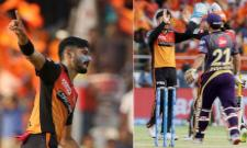 KKR Set Target of 160 Runs over SRH - Sakshi
