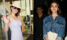 Alia Bhatt Reacts To Kangana Ranaut Controversy - Sakshi
