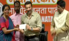 Sunny Deol Joins BJP - Sakshi
