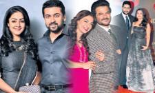 Cinema stars re-entry to movies - Sakshi