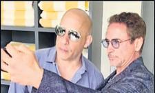 Vin Diesel Praises Avengers Co-Star Robert Downey Jr - Sakshi