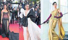 Deepika Padukone, Priyanka Chopra and Elle Fanning lead best dressed - Sakshi