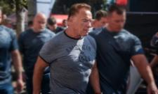 Arnold Schwarzenegger kicked during sporting event in South Africa - Sakshi