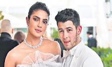Priyanka Chopra and Nick Jonas Make Their Cannes Red Carpet - Sakshi