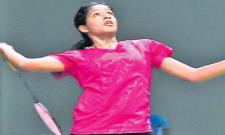 Focus on Gayatri Gopichand as Junior Badminton Nationals - Sakshi