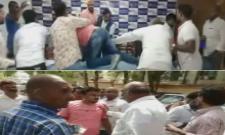 Swaeroes Members Attacks On SC ST Parirakshana Samithi Leader - Sakshi