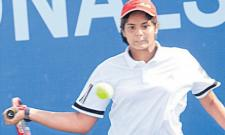 Telanganas Sanjana enters semifinals - Sakshi