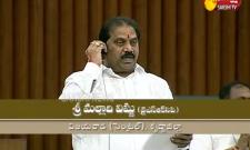 YSRCP MLA Malladi Vishnu Speech in AP Assembly