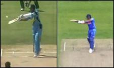 Sachin Tendulkar Gives Genius Reply To ICC About Rohith Sharma Six - Sakshi