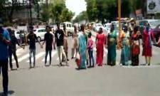Hanamkonda people demands justice for Shritha murder