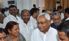 Nitish makes eight JDU members Bihar ministers - Sakshi
