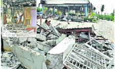 Demolition of Praja Vedika 80% Completes