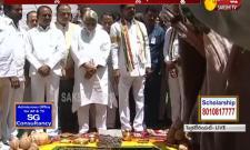 CM KCR Lays Foundation Stone For New Secretariat