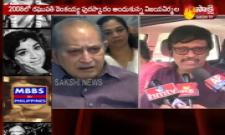 Music Director Koti Pays Tribute to Vijaya Nirmala Death - Sakshi