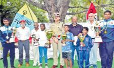Kongara Preeti Got Two Sailing Titles - Sakshi