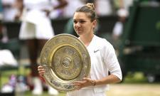 Halep Beats Serena for 1st Grand Slam Title on Grass - Sakshi