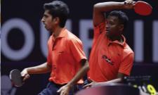 Sathiyan and Amalraj Win Bronze At Australian Open - Sakshi