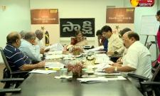 Jury meeting for sakshi excellence awards 2018