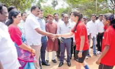 Football Tennis Tourney Of South Zone Started - Sakshi