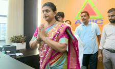 MLA Roja Takes Charge As APIIC Chairman - Sakshi