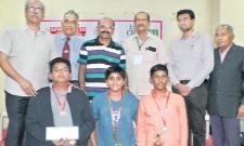 Karthik Sai Won Chess Title - Sakshi
