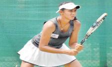 Sri Valli Leads In ITF Womens Tourney - Sakshi