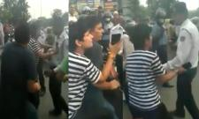 Woman Misbehaves With Traffic Police