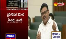 Ambati rambabu speaks about ysr statues in assembly