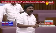 Minister Adimulapu Suresh Speech in AP Legislative Council - Sakshi