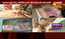 14 month old dies after slab collapses on him in Hyderabad - Sakshi