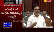 Ambati Rambabu punch dialogues on TDP
