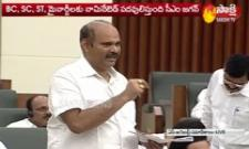 YSRCP MLA Parthasarathy Speech In Assembly About BC Commission Bill - Sakshi