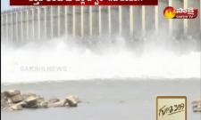 Flood water to Godavari river