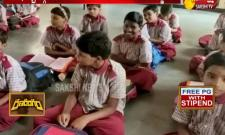 Boy cut for girls due to water problem