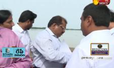 Heavy Flood Reached To Prakasam Barrage Water Release To Down