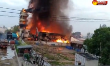 Fire Accident in Chemical Factory At Patancheru