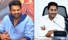 Prabhas Comments On YS Jagan Mohan Reddy Government In Saaho Promotions - Sakshi