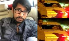 Actor Raj Tarun Escaped from Road Accident In ORR