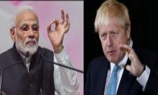 Boris Johnson calls India-Pak to resolve Kashmir issue - Sakshi