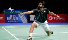 BWF World Championships Sai Praneeth Settles for Bronze - Sakshi