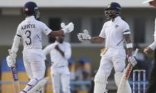 Kohli And Rahane Fifties Put India In Drivers Seat - Sakshi