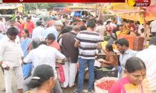 Flowers Price Hike Due To Varalakshmi Vratham