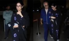 Khushi Kapoor Leaves To America For Acting - Sakshi