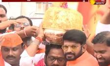 Balapur Ganesh laddu auctioned for Rs 17.6 lakh