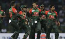 Bangladesh Beat Zimbabwe By Three Wickets - Sakshi