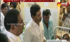 CM Jaganmohan Reddy meets boat tragedy survivors