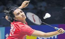 PV Sindhu Eases into Second round, Saina Nehwal Exits Early  - Sakshi