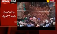 Gelatin sticks blast in vizianagaram